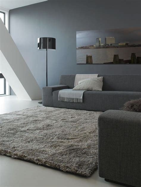 mooi vloerkleed woonkamer mooi grijs tapijt tijdloos appartement woonkamer