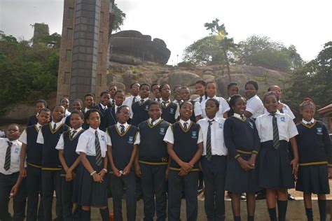 thames valley college ogun state thames valley college students on excursion to olumo rock