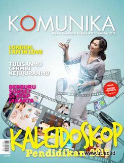 Majalah Cinemags All 2015 majalah komunika edisi desember 2015 universitas terbuka