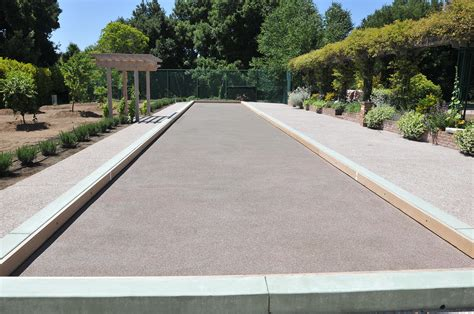 official world synthetic bocce ball court surface bocce builders of america