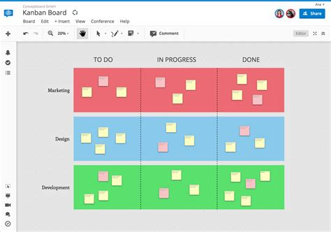 kanban cards template getting started with kanban boards