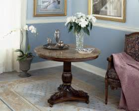 Painted Foyer Table Furniture Small Half Painted Foyer Table With