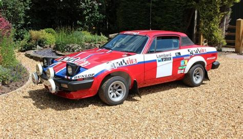 how to restore triumph tr7 8 enthusiast s restoration manual books ex works triumph tr7 v8 rallycar jason lepley motorsport