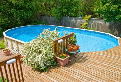 How To Decorate An Above Ground Pool by 14 Great Above Ground Swimming Pool Ideas