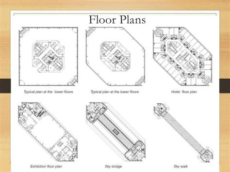 Ground Floor Plans by Shanghai World Financial Center