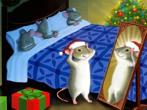 drawing painting christmas mouse lx picture nr
