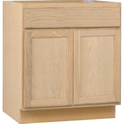 home depot base cabinets kitchen 30x34 5x24 in base cabinet in unfinished oak b30ohd the