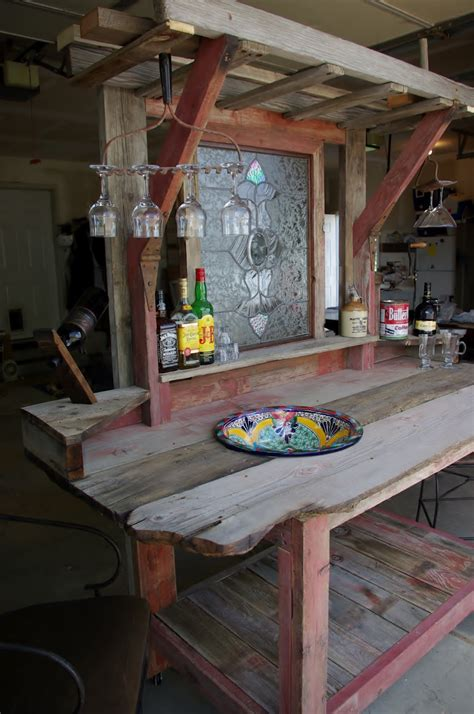 garten bar selber bauen freshouse - Bar Aus Holz Bauen