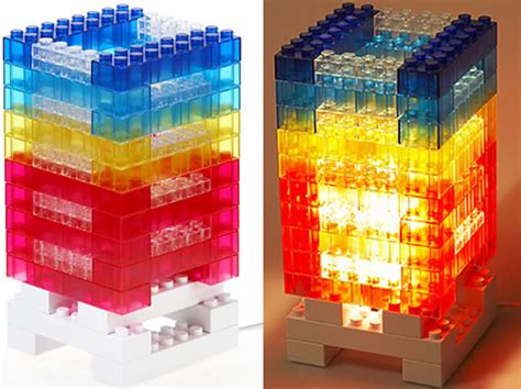 lego style mood light