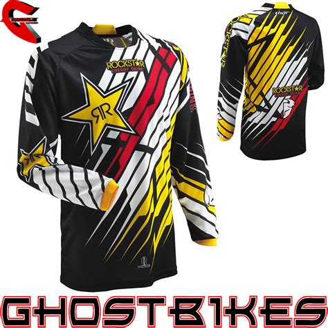 energy motocross jersey thor 2013 phase s13 rockstar energy mx race shirt moto x