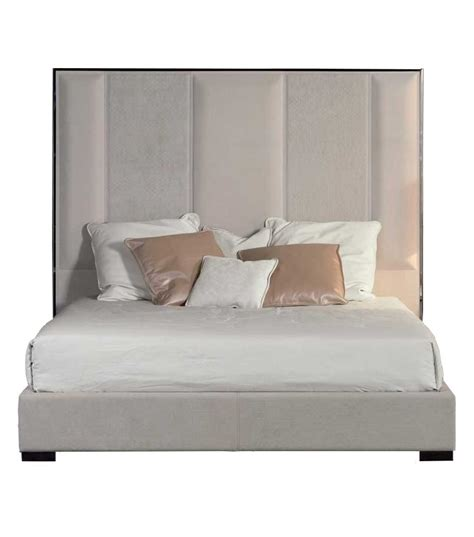 High Headboard Bed Stripe Bed With High Headboard Rugiano Milia Shop