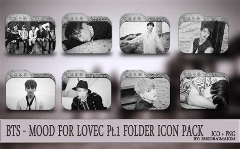 download mp3 bts mood for love bts the mood for love pt 1 folder icon pack by
