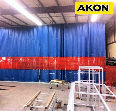 weld curtain welding curtains akon curtain and dividers