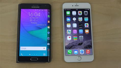 samsung galaxy note edge  iphone   review  youtube