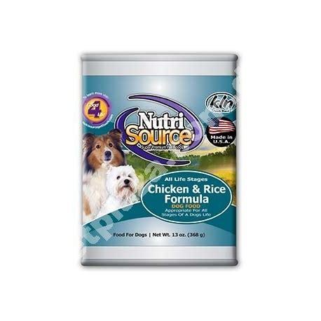 nutrisource 174 chicken rice formula petplaza