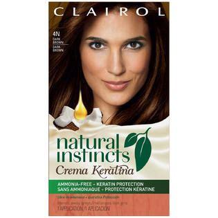 4n hair color clairol instincts crema keratina hair color kit 4n