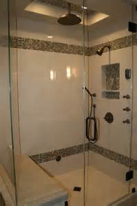 residential steam shower modern bathroom orange
