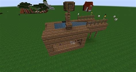 minecraft automatic boat dock automatic simple dock minecraft project