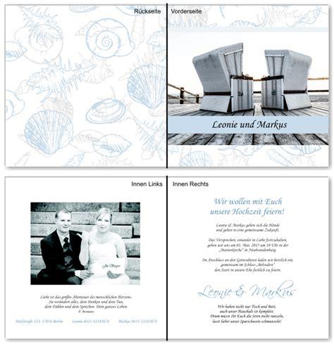 Hochzeitseinladung Maritim by Einladungskarten Hochzeit Maritim Alle Guten Ideen 252 Ber