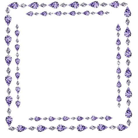 Rhinestone Clipart Diamond Border Pencil And In Color Jewelry Border Clip