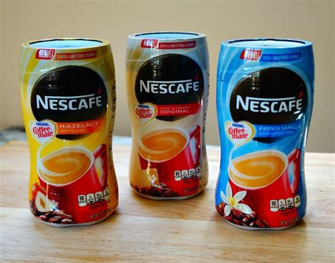 Nescafe Coffee Mate nescafe and coffee mate are better together