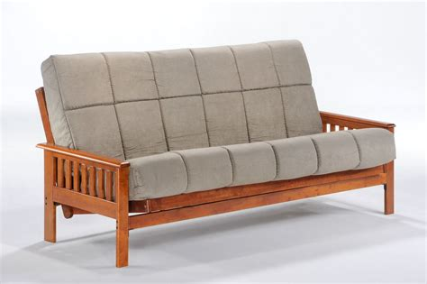 Cheap Bed Frames Chicago And Day Furniture Futon Frame Hickory Finish 100 Solid Wood Marjen Of