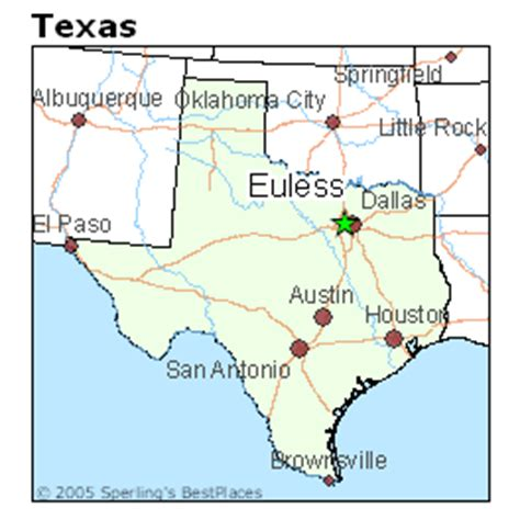 map of euless texas best places to live in euless texas