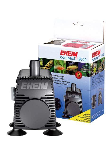 Pompa Aquarium 2000l eheim compact 2000 pompe universelle 224 d 233 bit variable de