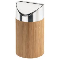 Ice Cream Storage Container - cal mil 1717 60 bamboo counter trash bin 5 quot x 7 quot