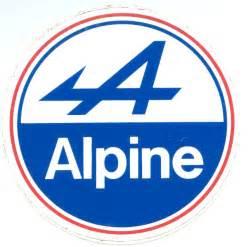 Renault Alpine Logo Monte Carlo Historique Le Grand Retour Officiel Des