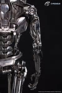 Terminator: Genisys Life Size T-800 Endoskeleton Version 2 ... Lotto Endo