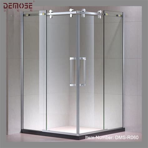 Standard Sliding Glass Door Size Shower Frameless Sliding Standard Shower Door Size