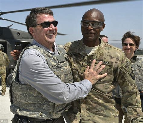 major general lewis ash carter s top aide spent 1 800 at an italian strip