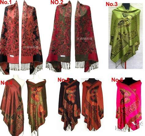 Pashmina Satin Silk 2 new silk pashmina beautiful new side butterfly pashmina scarf wrap