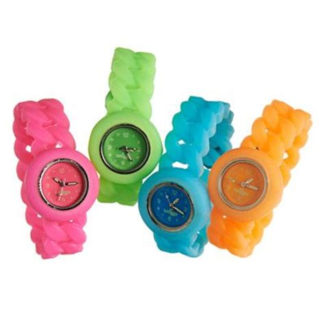 Slap Band Smiggle 1 glow silicone smiggle watches and glow