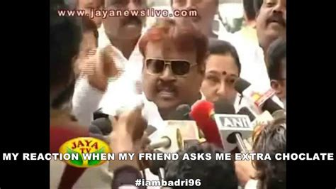 Captain Vijayakanth video meme :) - YouTube