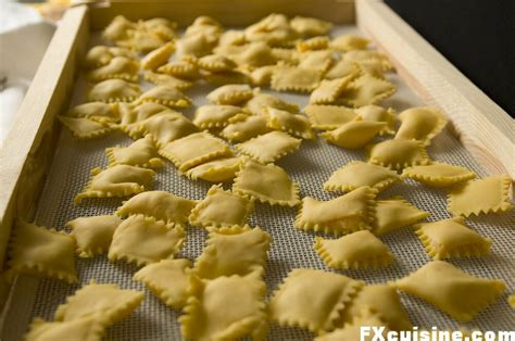 Handmade Pasta Shapes - storage method how to store pasta without