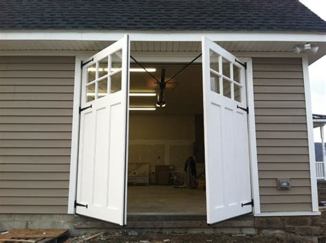 Sheds With Garage Door by Carriage Doors Traditional Garage And Shed By