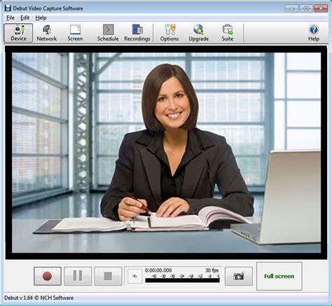 best webcams debut capture software