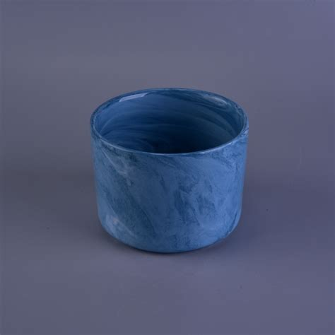 wholesale ceramic wholesale cylinder colored glaze ceramic candle jar