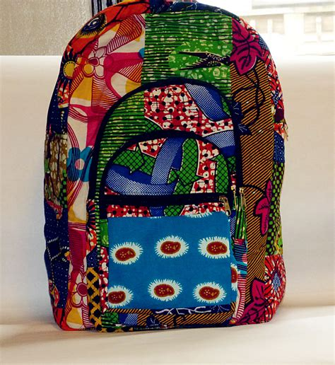 Ankara Patchwork - ankara patchwork bookbag 183 afrikinspired styles 183