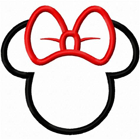 minnie mouse bow template 2854 views