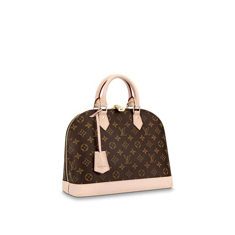 christmas handbags alma pm monogram canvas louis vuitton
