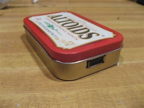 altoids tin phone charger make a solar phone charger from an upcycled altoids can