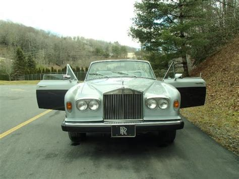 1980 roll top 1980 rolls royce corniche convertible excellent condition