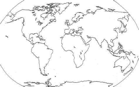Worlds Collide Europe Africa And America Outline by Blank Map Of America South America Africa And Europe