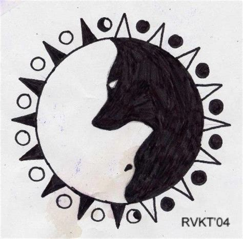 yin yang wolf tattoo 25 best ideas about indian tattoos on