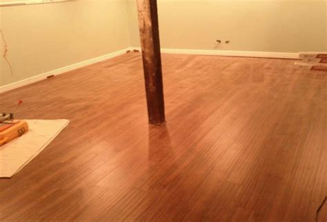 is laminate wood flooring good for basements wooden home