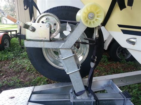 boat trailer spare wheel mount is my spare tire mount ok the hull truth boating and