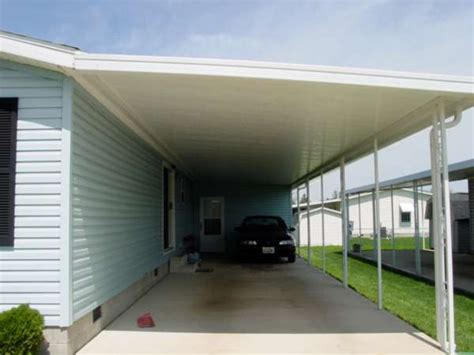 Metal Awnings For Cars Dacraft Dayton Ohio Mobile Home Products Car Ports